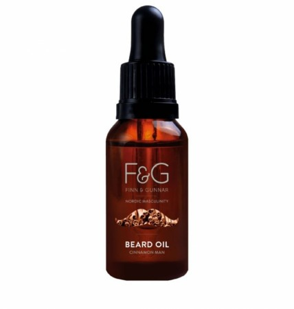 F&G Nordic Masculinity Beard Oil Cinnamon Man 30 ml