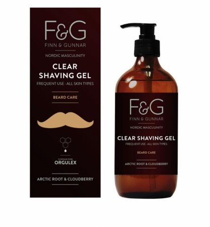F&G Nordic Masculinity Clear Shaving Beard Gel