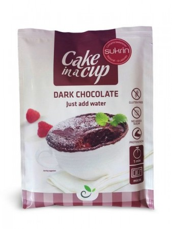 Cake in a cup-Dark chocolate