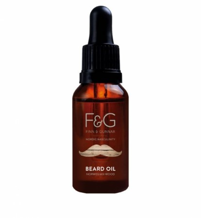F&G Nordic Masculinity Beard Oil Norwegian Wood 30 ml